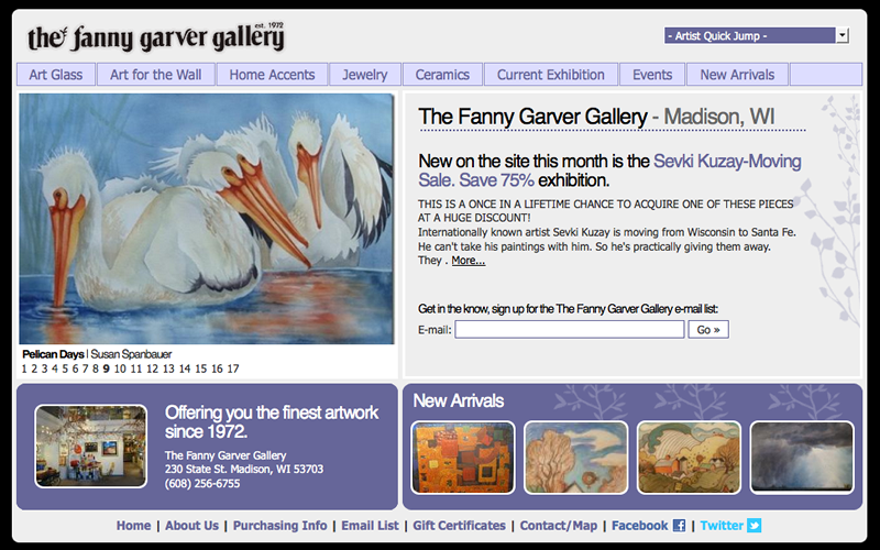 The Fanny Garver Gallery