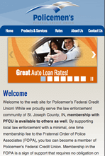 Policemen's Federal Credit Union - Mobile Website
